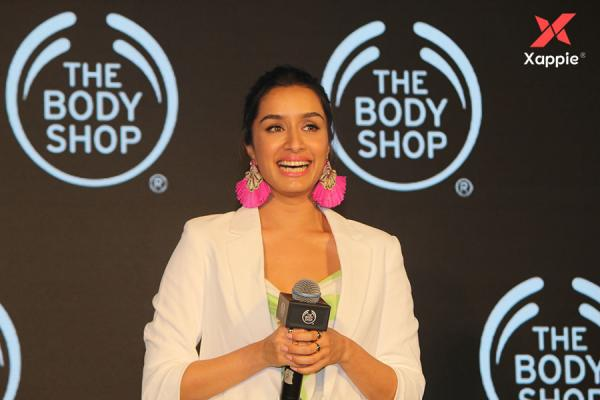Shraddha Kapoor as a new face and Brand Ambassador of The Body Shop India
