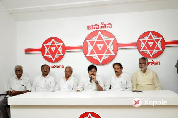 Janasena Party Press Release Photos