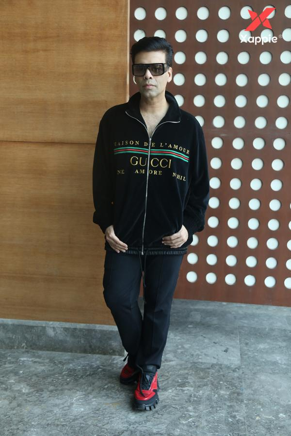 Karan Johar spotted during the Fankind event - Photos