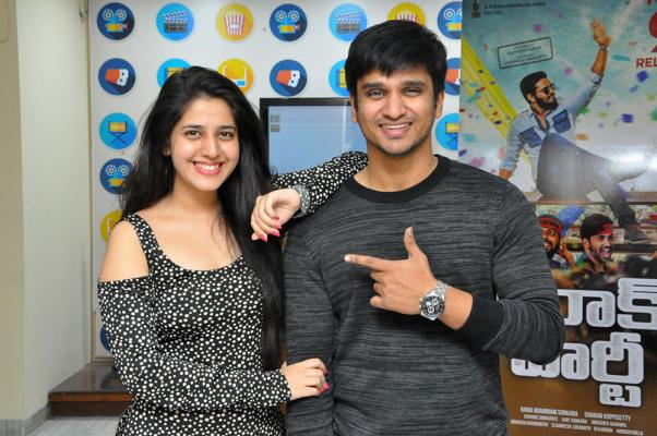 Kiraak Party Movie song launch pics