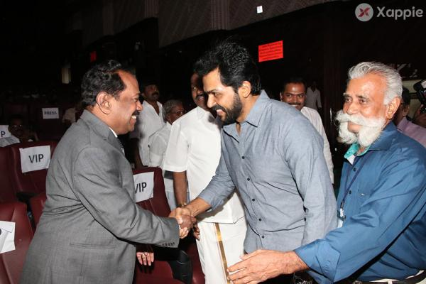 Suriya Karthi launch Naan Kanda Mgr Book Launch Photos