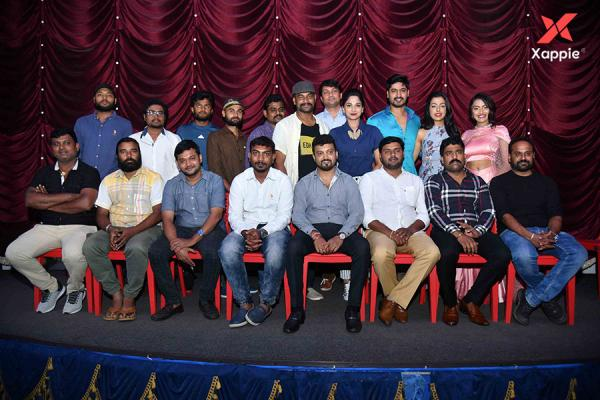 Neuron Kannada movie press meet photos