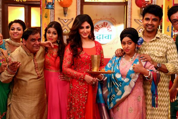 Cast of Diwane Anjane celebrate Mahashivratri and Valentine's Day on the sets