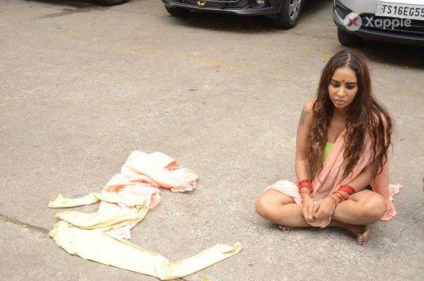SriReddy Protest at FilmChamber