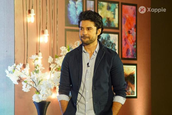 Rajeev Khandelwal Press Conference for his upcoming chat show Juzzbaatt