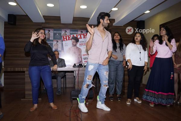 Kartik Aaryan graces the cover of Health and Nutrition magazine
