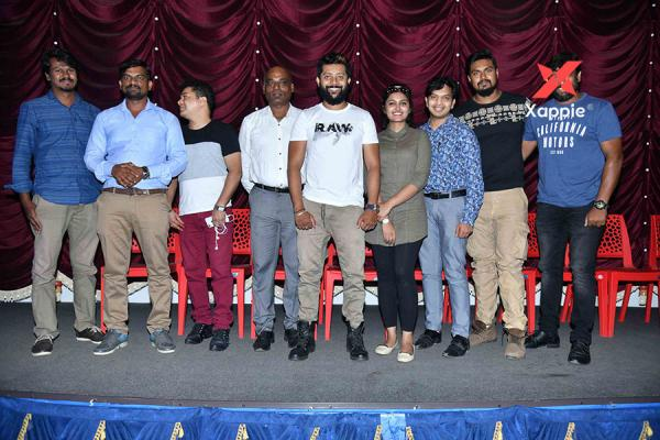 War & Peace Film Press Meet Photos
