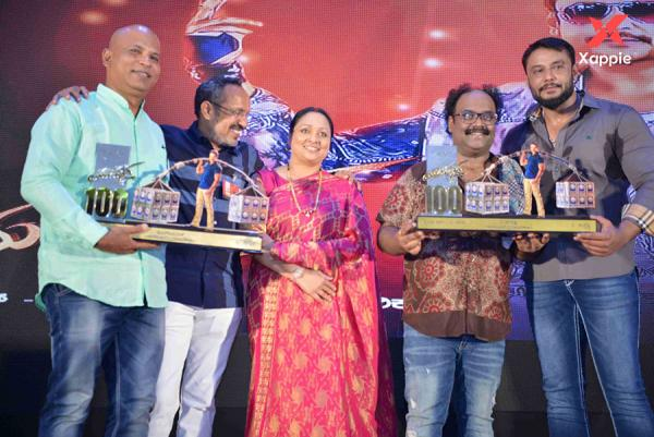 Yajamana Film 100 Days Photos