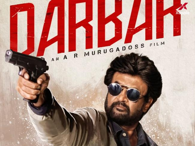 Superstar Rajinikanth looks powerful and stylish holding a gun in Darbar movie new poster