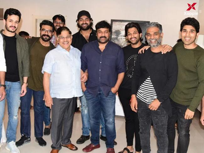 Allu Arjun throws 'Sye Raa' success party