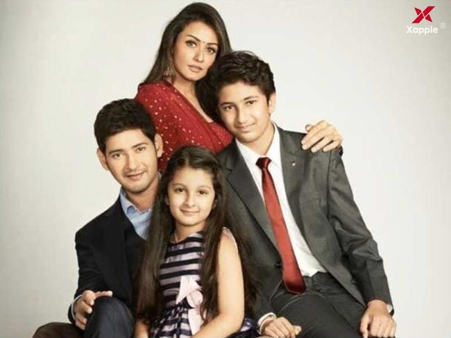 Mahesh Babu appears along with his family in an advertisement