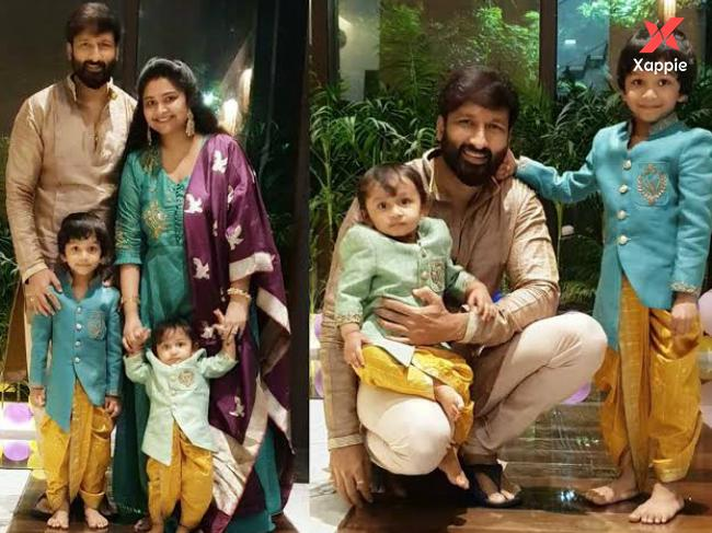 Gopichand posts an adorable family picture