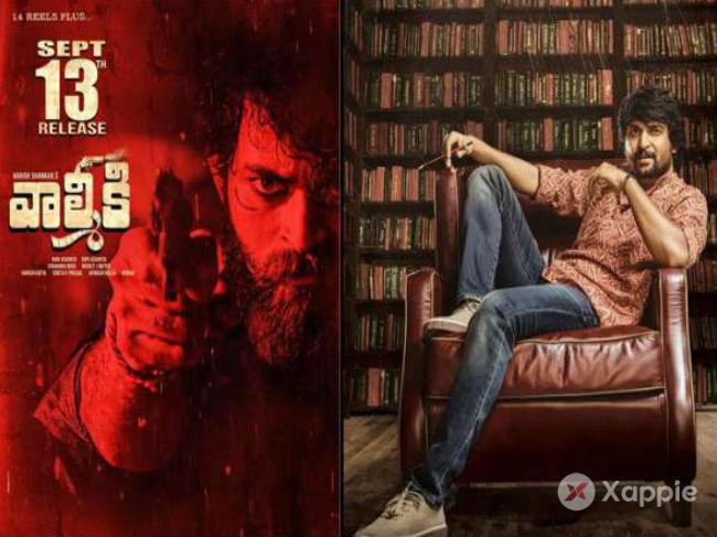 Gang Leader to release on September 13, Valmiki team gives thumbs up
