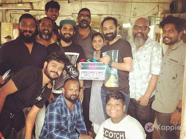 Fahadh Faasil - Nazriya starrer 'Trance' shooting wrapped up