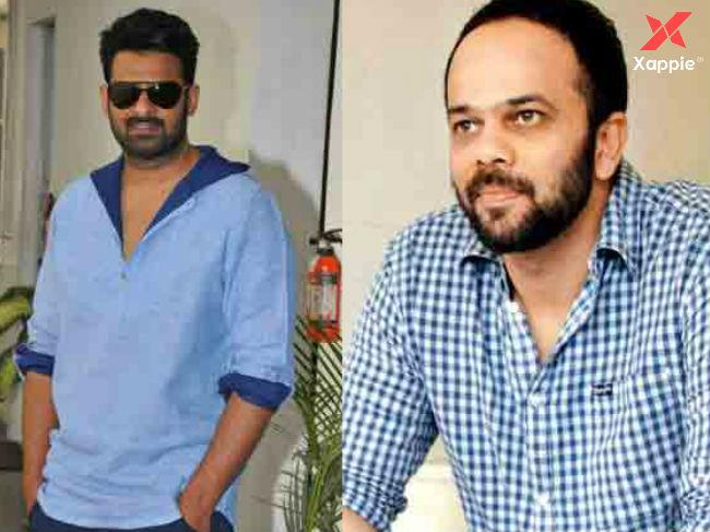 Bollywood Top Director Rohit Shetty meets Prabhas. What's cooking?