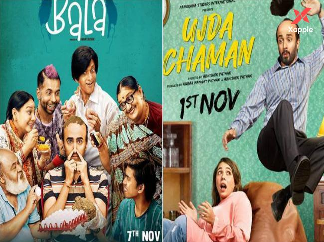 Bala and Ujda Chaman: Movies clash with release date