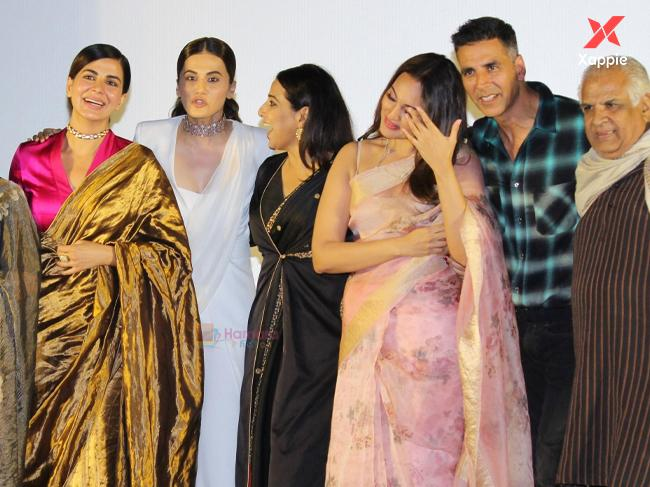 After Mission Mangal Promotion, Akshay Kumar, Kriti Kulhari and Tapsee Pannu back from Delhi