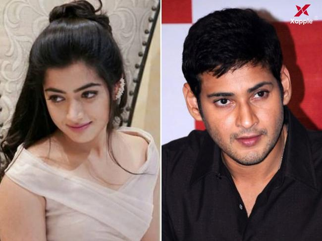 Talk of the town: Mahesh Babu's kiss to Rashmika Mandanna