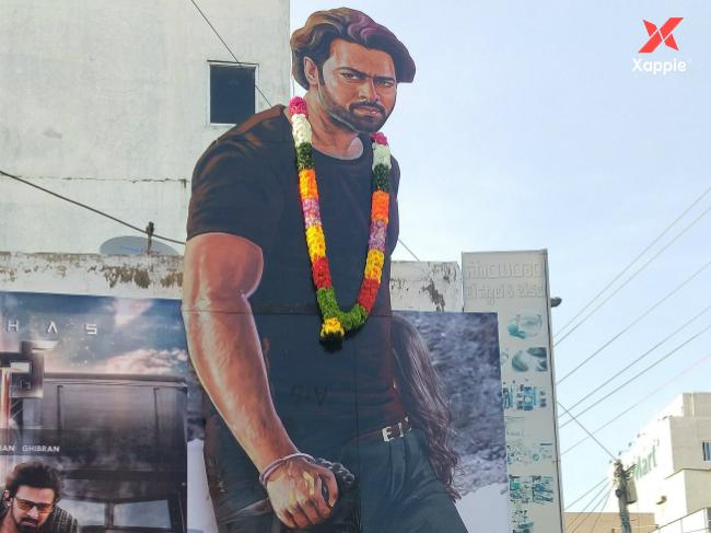Saaho Box Office Collection Day 1 - AP/TG