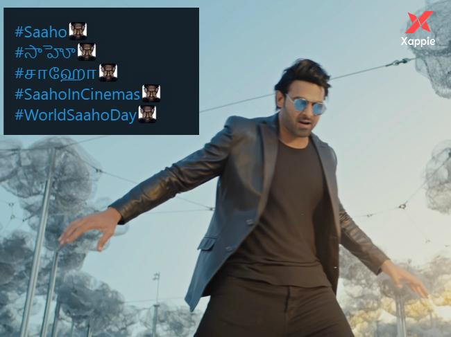Saaho becomes the first Telugu movie to get a twitter emoji