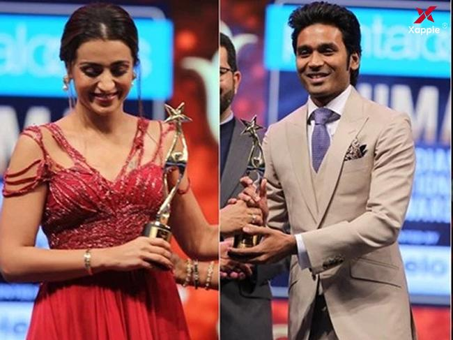 SIIMA 2019 : Dhanush and Trisha bags leading honours for