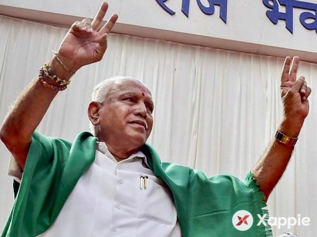 BS Yeddyurappa to take oath as Karnataka Chief Minister
