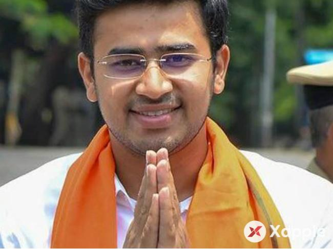 Bengaluru South MP LS Tejasvi Surya tweets tempers flare over the arrest of Kannada activists