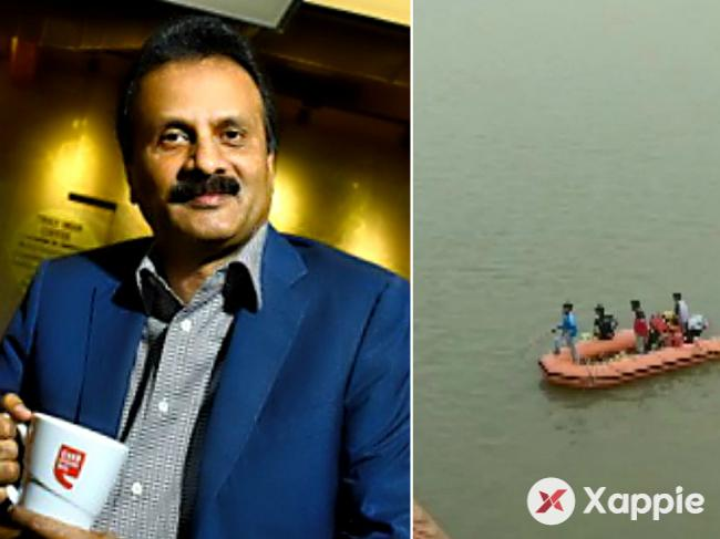 VG Siddhartha's body has finally found in the river of Mulihithlu
