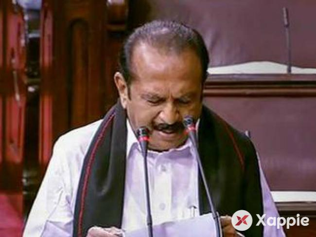 Vaiko and four members from Tamil Nadu elected as Rajya Sabha candidates