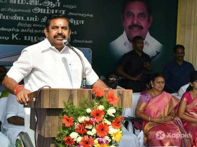 Palaniswami questions stalins motive for village outreach