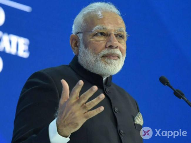 Narendra Modi said, India can now provide leadership in the world
