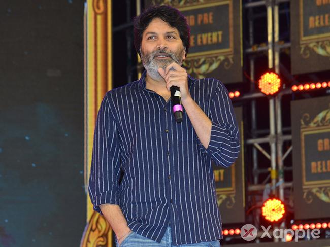 Electrifying speech by Trivikram at Vinaya Vidheya Rama Pre-release event