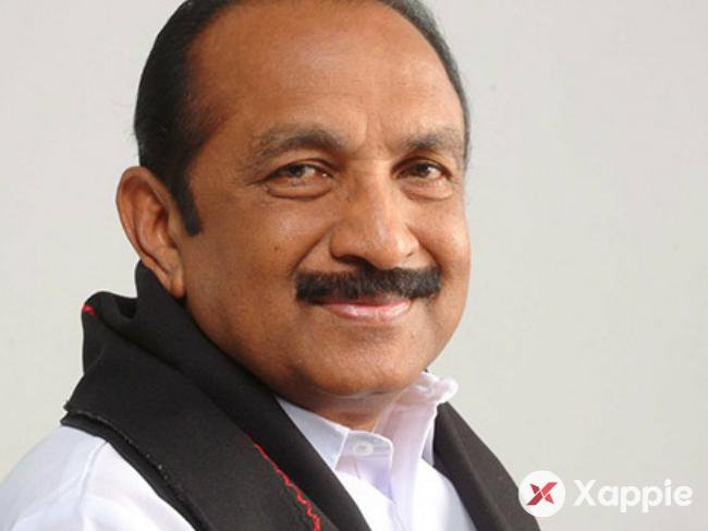 MDMK leader Vaiko opposes neutrino project put off