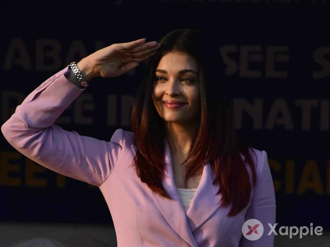 Aishwarya Rai Bachchan at 17th Annual Sports Meet for differently abled children