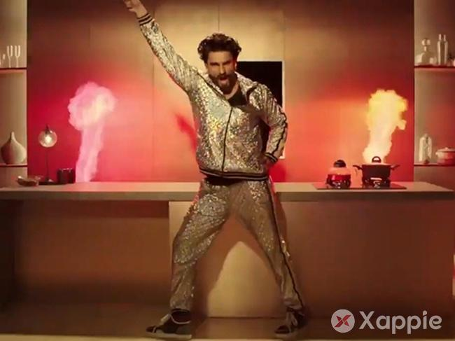Sexy and I know it - Ranveer sets the stage on fire with his new ad