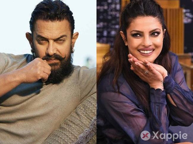 Aamir Khan v Priyanka Chopra for Ma Anand Sheela 's Biopic ?