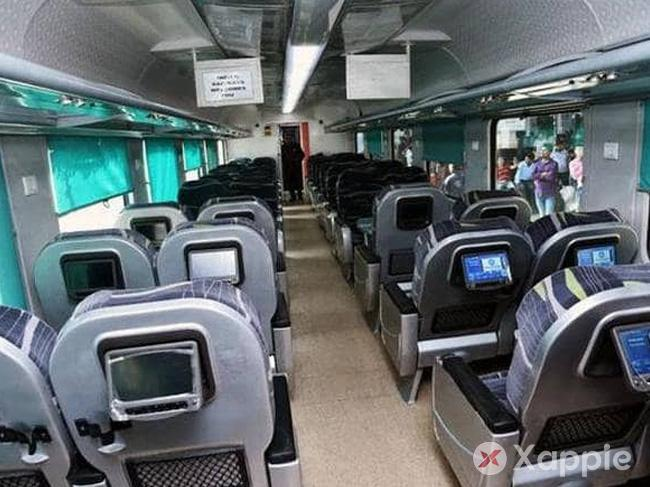 Secunderabad-Pune Shatabdi is ranked as India's cleanest train