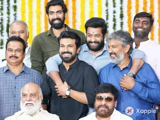 Record price for Ram Charan and Jr NTR RRR!