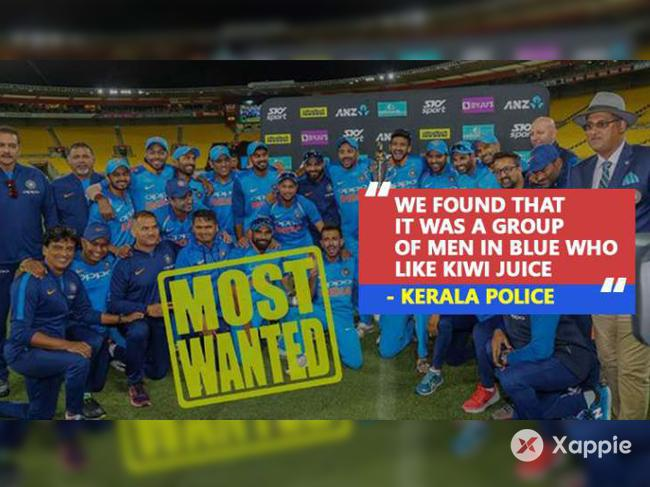 In game of words, Kerala Police bowl a googly