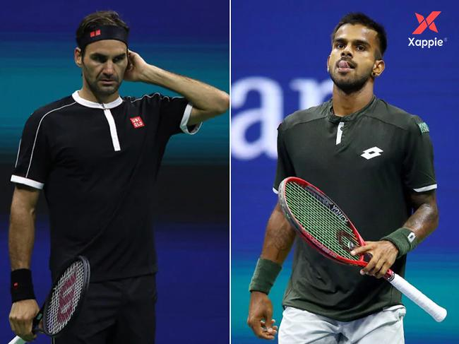 US Open: Indian Tennis player defeats Federer in the first set though he lost the match