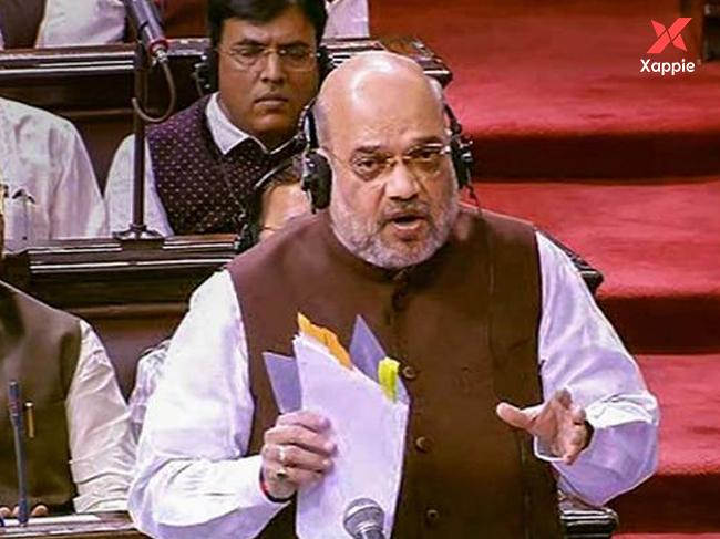 Amit Shah said 'PoK included when I talk about J&K'