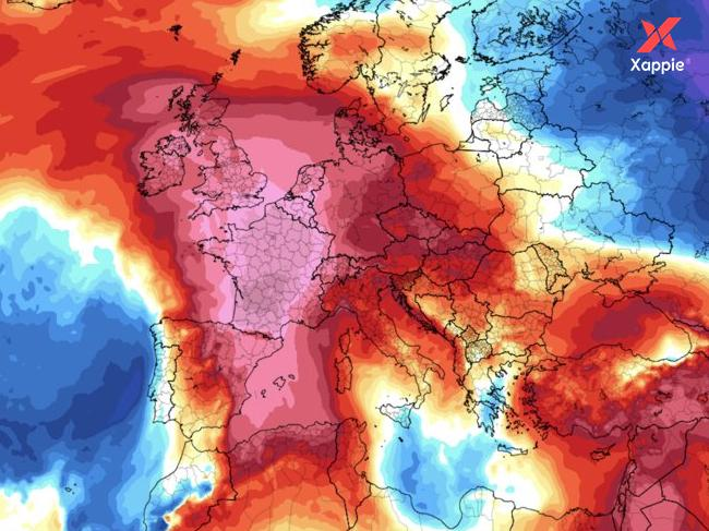 International: France recorded it's highest temperature in history