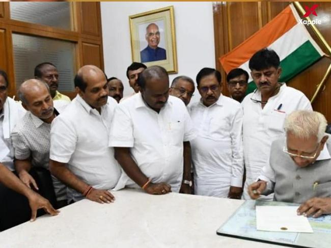 Karnataka government falls as Congress-JDS alliance fails to prove majority