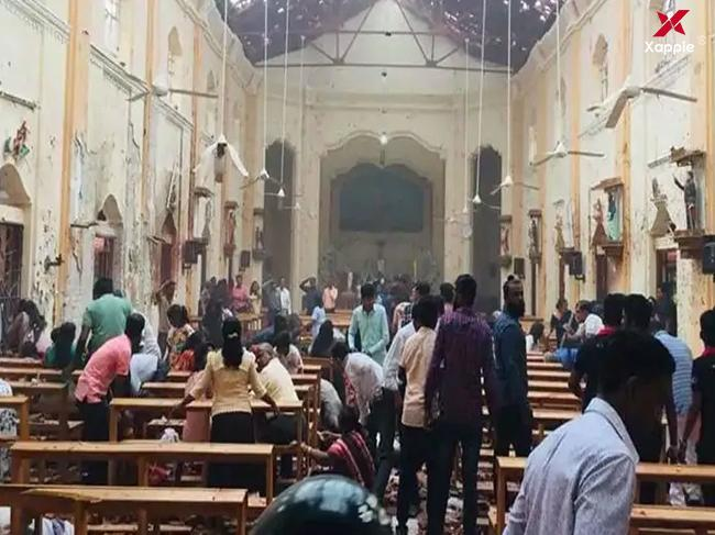 ISIS claims serial blasts in Sri Lanka