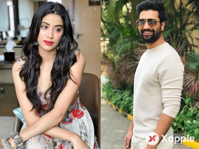 Janhvi Kapoor wants to kiss Vicky Kaushal!