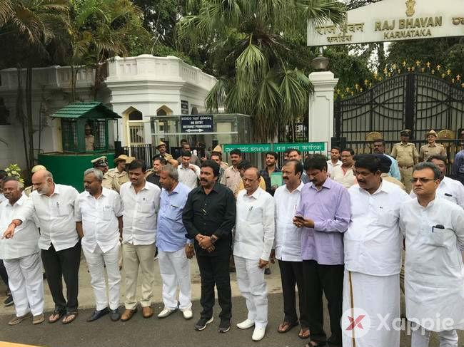 Karnataka political crisis: 10 MLAs from the ruling coalition seeks protection