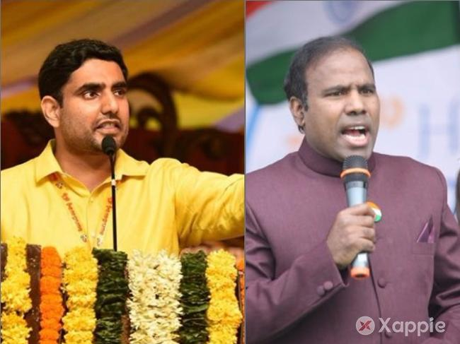 KA Paul attacks Nara Lokesh this time..!