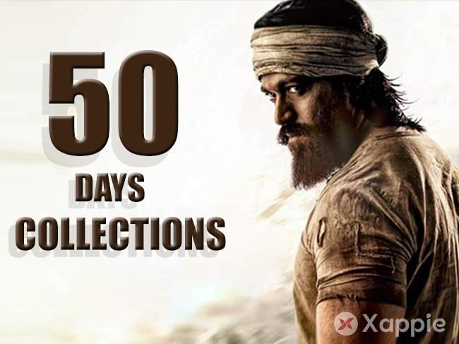 KGF Box Office Collection 50 days Worldwide
