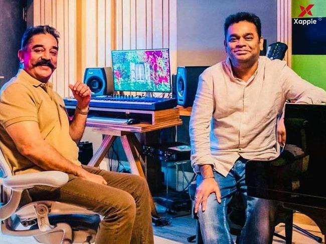 Kamal Hassan and AR Rahman reunite after two decades