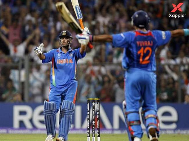 On this day Dhoni has hit the winning SIX in 2011 WC Final !